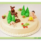 248.Marcipánový erotický dort – Jaro je tady