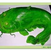 232.Marcipánový modelovaný dort 3D – Sumec