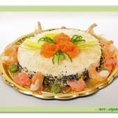 217.Sushi slaný dort