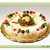216. Sýrový slaný dort