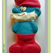 104.Marcipánový modelovaný dort 3D – Taťka Šmoula