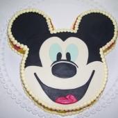 139.Marcipánový modelovaný dort Mickey Mouse
