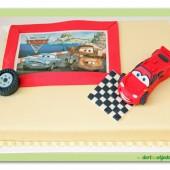 134.Marcipánový dort – Cars