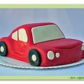 145.Dětské marcipánové autíčko