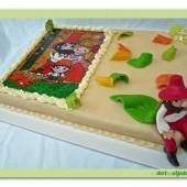 127.Marcipánový dort – Rumcajs s cipískem a mankou
