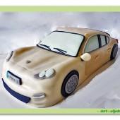 148.Marcipánový modelovaný dort  – Auto osobní – střední