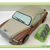 149.Marcipánový dort  – Auto osobní – velké