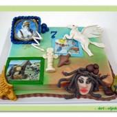 110.Marcipánový dort na motivy Řeckých bájí