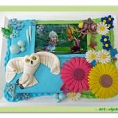 109.Marcipánový dort  – Víla Zvonilka