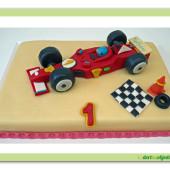 142.Marcipánový dort s formulí