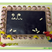 289. Marcipánový dort – třída u tabule