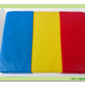 280. Marcipánový dort – klubová vlajka