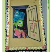61.Marcipánový dort na téma Monster university – Příšerky s.r.o.