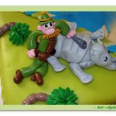 65.Marcipánový dort – slavný lovec Pampalini