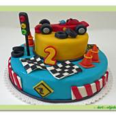 5.Marcipánový patrový dort s formulí