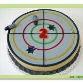 272. Marcipánový dort Terč