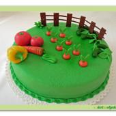 297.Marcipánový dort pro Zahradníky