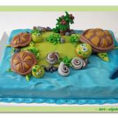 224.Marcipánový dort – Želví ostrov