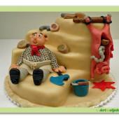 294.Marcipánový dort s motivem Zabijačky