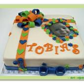 202. Marcipánový dětský narozeninový dort s fotografií