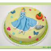 36.Marcipánový dort  s popelkou