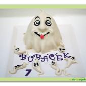"""27. Marcipánový modelovaný dort """"Duchařský"""""""