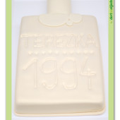 257. Marcipánový modelovaný dort – Flakon s parfémem