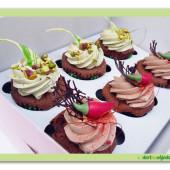 313. Cap cake set malý box – čokoládový