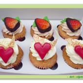 312. Cup cakes set malý box –  vanilkový