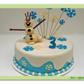 316. Olaf z ledového království přeje vše nejlepší
