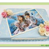"""326. Marcipánový dort """" Andílci """""""