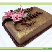 351. Čokoládový slavnostní dort