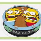 350. Marcipánový dort Simpsonovi – Bart a Liza