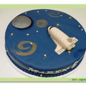 343. Marcipánový dort – Star Wars – raketoplan