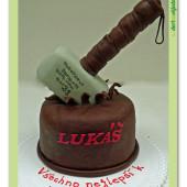 347. Marcipánový modelovaný dort – Thorovo kladivo