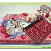 348. Marcipánový dort – Violetta