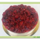 367. Malinovo smetanový dort – Cheesecake