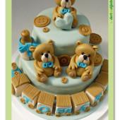 359. Medvídkový marcipánový dort
