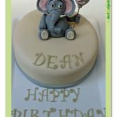 212. Slůně pro štěstí – marcipánový dort