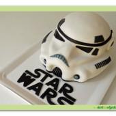 358. Star Wars helma – marcipánový 3D dort