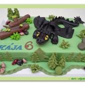 374. Bezzubka – marcipánový dort Jak vycvyčit draka