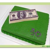 399. Dolary – marcipánový dort