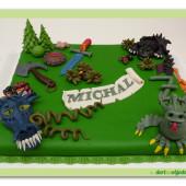 402. Jak vycvičit draka – marcipánový dort