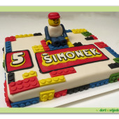 404.  Lego marcipánový dort
