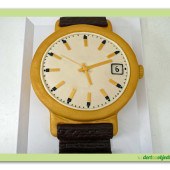 393. Náramkové hodinky Prim 3D  – marcipánový dort