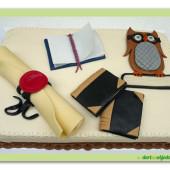 "425. Marcipánový dort  "" studijní """