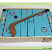 424. Marcipánový dort – Hokejové hřiště