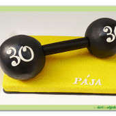 427. Činka – marcipánový dort