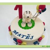 426. Snoopyho  narozeninový dort