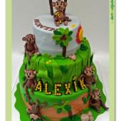 430.Opičí narozeninový dort